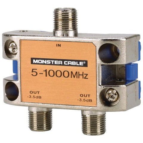 Monster Power SS2RF MKII Monster Standard RF Splitter for CATV Signals - Peazz.com