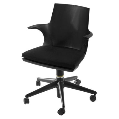 Mod Made MM-PC-077-BLACK+BLACK Jaden Chair