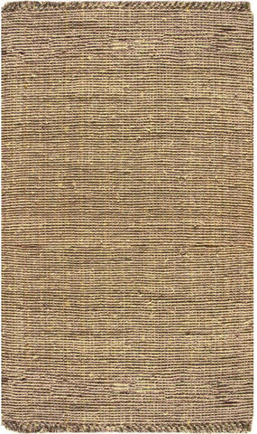 Nuloom NCCL01-609 Natura Collection Beige Finish Machine Woven Chunky Loop Jute - Peazz.com