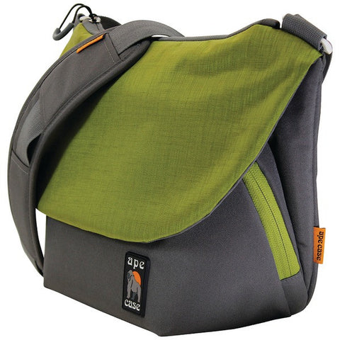 Ape Case AC580G Large Tech Messenger Camera Case (Green) - Peazz.com