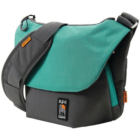 Ape Case AC580T Large Tech Messenger Camera Case (Teal) - Peazz.com