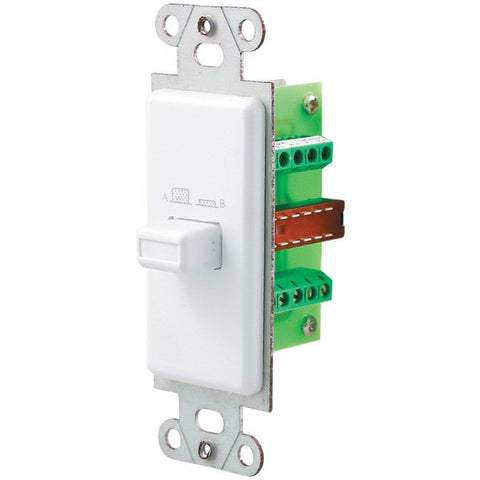 Pro-Wire IW-101 Source/Speaker Switch (White) - Peazz.com