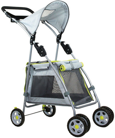 Outward Hound OH21011 Walk N Roll Top Flap Stroller - Peazz.com