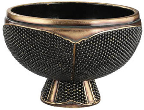 Ok Lighting OK-4223B Beaded Stone Decorative Bowl - Peazz.com