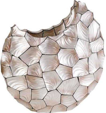 Ok Lighting OK-4229-V1 Conch Shell Vase - Peazz.com