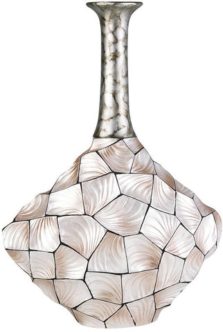 Ok Lighting OK-4229-V2 Conch Shell Vase - Peazz.com
