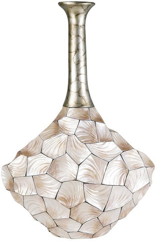 Ok Lighting OK-4229-V3 Conch Shell Vase - Peazz.com