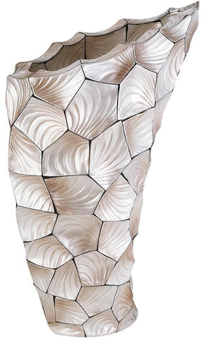 Ok Lighting OK-4229-V4 Conch Shell Vase - Peazz.com