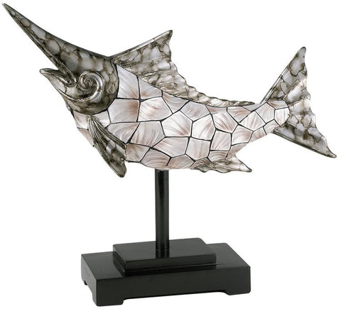 Ok Lighting OK-4229D Conch Shell Dorado Stand - Peazz.com