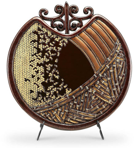 Ok Lighting OK-4231P Bahama Collection Decorative Plate - Peazz.com