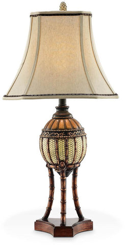 Ok Lighting OK-4231T Bahama Collection Table Lamp - Peazz.com