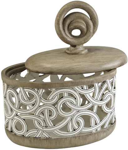 Ok Lighting OK-4241JX Carved Strings Decorative Box - Peazz.com
