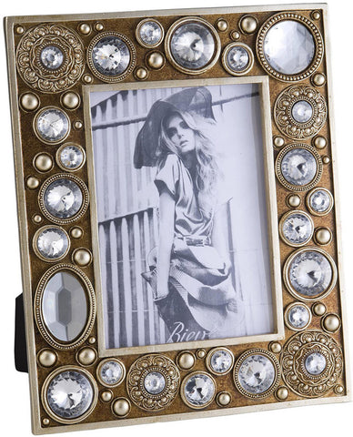 Ok Lighting OK-4261D Bejeweled Picture Frame - Peazz.com