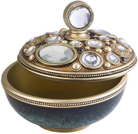 Ok Lighting OK-4261JX Bejeweled Decorative Box - Peazz.com