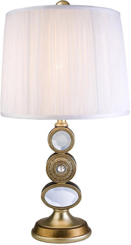 Ok Lighting OK-4261T Bejeweled Table Lamp - Peazz.com