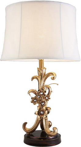 Ok Lighting OK-4279T Athena Bronze Table Lamp - Peazz.com