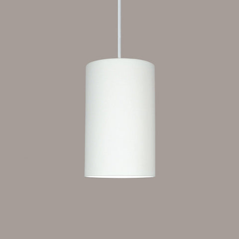 A19 P201-CFL13-WC-WCC Islands of Light Collection Andros White Crackle Finish