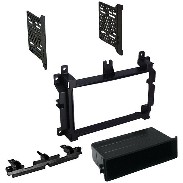 """Best Kits And Harnesses Bkcdk658 Dodge Durango/jeep/eagle Grand Cherokee 2014–2015 With 4.3"""" Screen Double-din/single-din With Pocket Kit"""