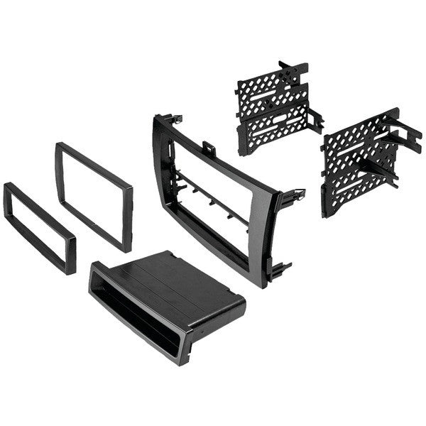 Best Kits And Harnesses Bktoyk949 Toyota Corolla 2009 Double-din/single-din With Pocket Kit