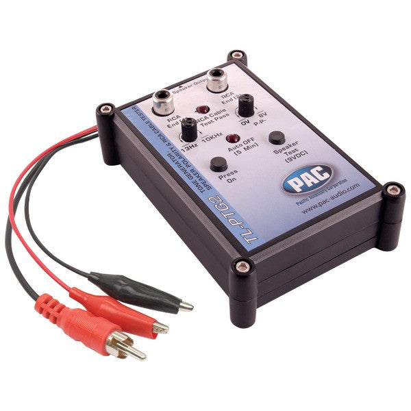 pac audio tl ptg2 tone generator speaker polarity rca cable tester