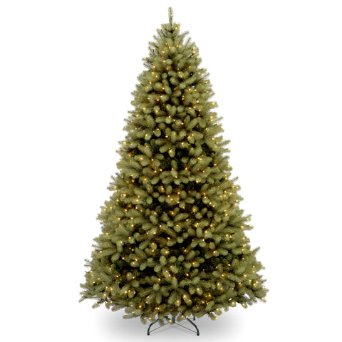"National Tree PEDD3-312-60 6' ""Feel-Real"" Downswept Douglas Fir Hinged Tree with 600 Clear Lights"