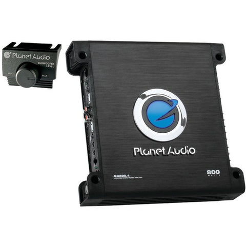 Planet Audio AC800.4 ANARCHY Full-Range MOSFET Class AB Amp (4 Channels, 800 Watts Max) - Peazz.com