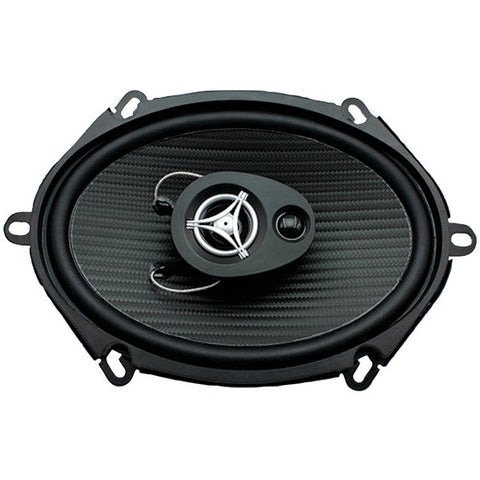 "Power Acoustik EF-573 Edge Series Coaxial Speakers (5"" x 7"", 3 Way, 500 Watts max) - Peazz.com"