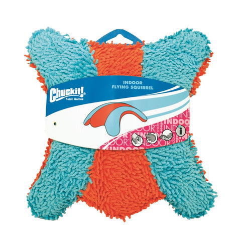 Petmate PTM215201 Chuckit Indoor Squirrel Dog Toy