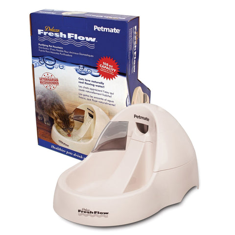 Petmate PTM24847 Deluxe Fresh Flow Cat Bowl 108oz
