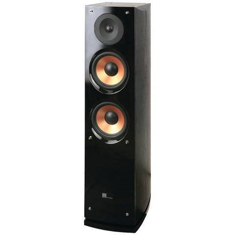 "pure acoustics Supernova5-F 6.5"" 2-Way Supernova Series Tower Speaker with Lacquer Baffle - Peazz.com"