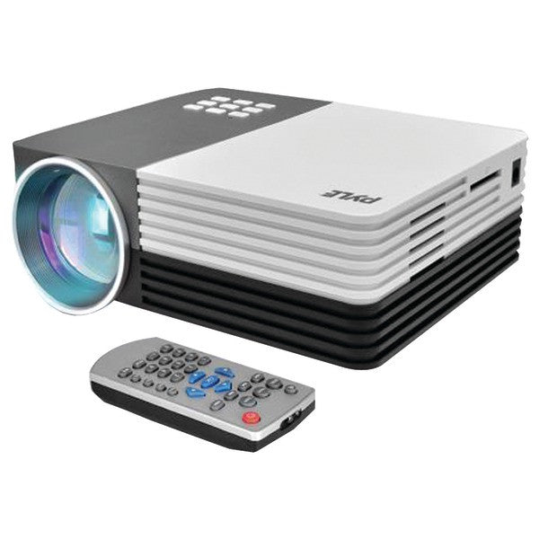 Pyle home prjg65 1080p hd digital multimedia projector for Compact hd projector