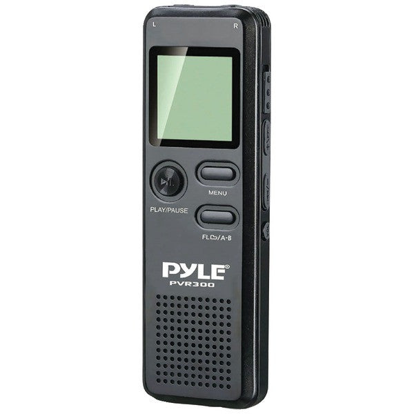 Pyle PVR300 Rechargeable Digital Voice Recorder with USB & PC Interface PTR-PYLPVR300
