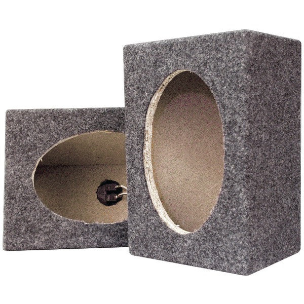 "Pyramid Car Audio PMB69MT 6"" x 9"" Carpeted Speaker Cabinets"