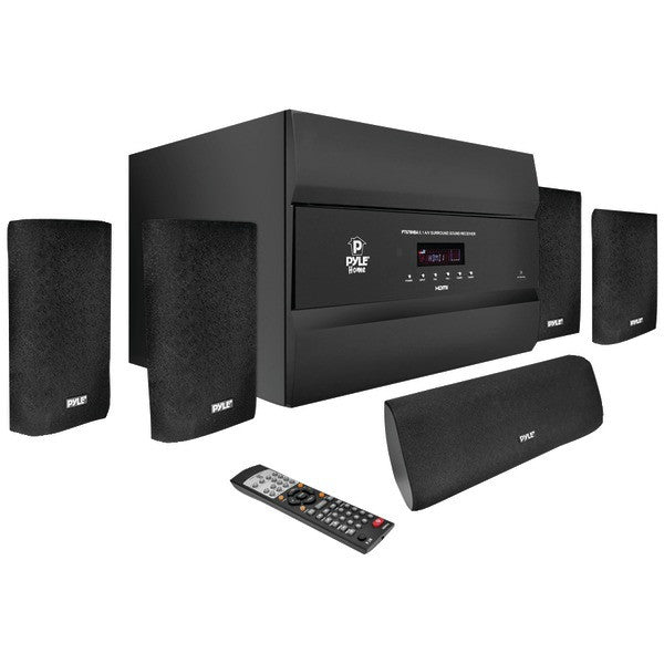 Pyle PT678HBA 5.1-Channel, 400-Watt HDMI Home Theater System with Bluetooth
