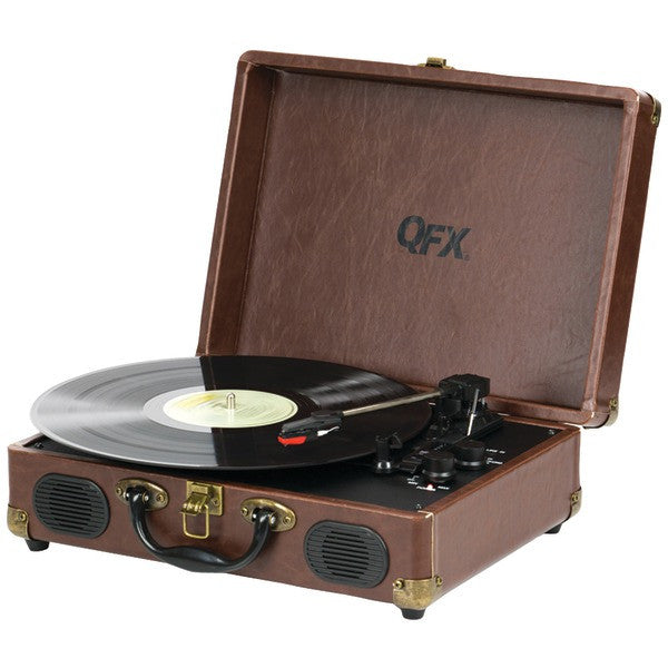 Portable Record Player As Seen On Shark Tank Portable Gas Stove Uk Portable Ssd X5 External Hard Drive Portable Vacuum Ace Hardware: QFX TURN-101 Portable Suitcase Record Player