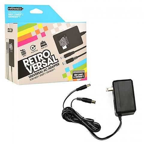 Universal AC Power Adapter For Retro Consoles (RB-UNI-1361)