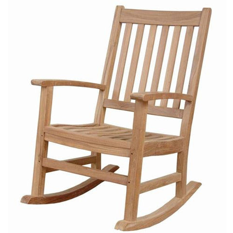 Anderson Teak RC-2215 Palm Beach Rocking Armchair - Peazz.com