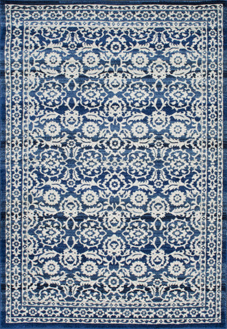 Nuloom RZBD05A-53079 Bodrum Collection Dark Blue Finish Turnbull Rug - Peazz.com
