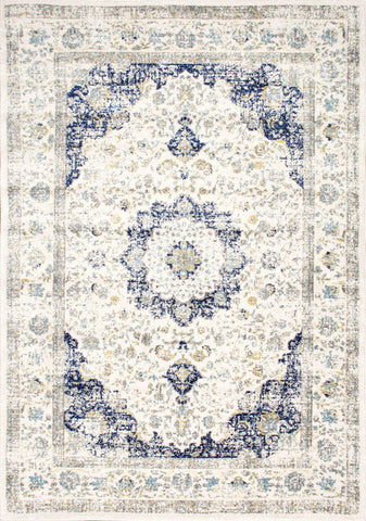Nuloom RZBD07A-53079 Bodrum Collection Blue Finish Verona Rug - Peazz.com