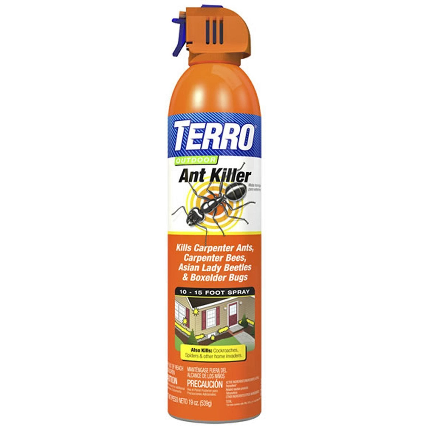 Terro S27-17006 Outdoor Aerosol Ant Killer 19 Ounces