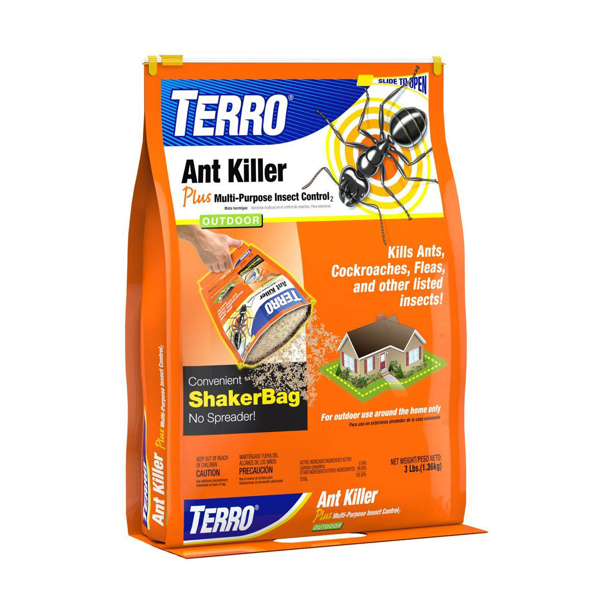 Terro S27-9016 T901-6 Ant Killer Plus Shaker Bag 3 Pounds