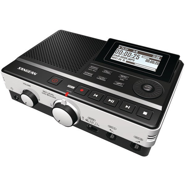 Highside Chemicals DAR-101 Digital Audio Recorder with Phone Answering Capability PTR-SNGDAR101