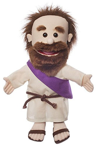 "Silly Puppets SP3161 14"" Jesus w/ Rope Belt - Peazz.com"