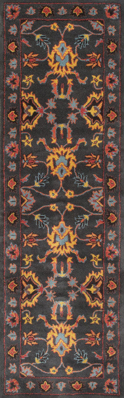 Nuloom SPRE21C-2608 Remade Collection Charcoal Finish Hand Tufted Montesque