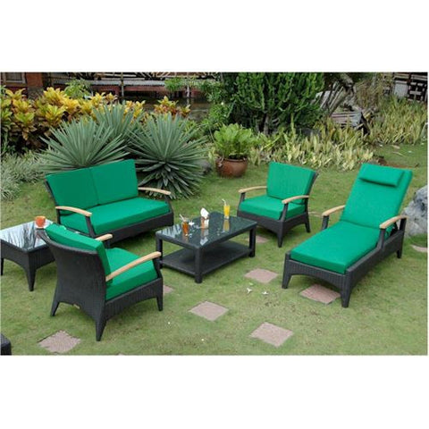 Anderson Teak SR-016DS Bellagio Deep Seating Set - Peazz.com