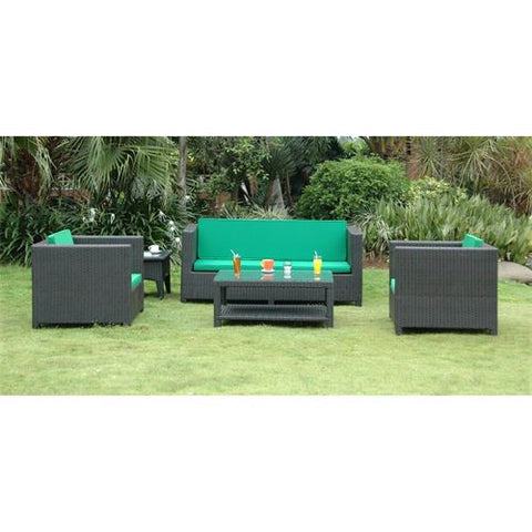 Anderson Teak SR-5010 Coto de Casa Deep Seating Set - Peazz.com