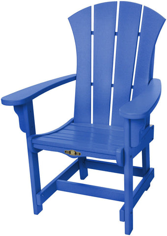 Pawleys Island Hammocks SRDCA1BLU Sunrise Dining Chair w/ Arms-Blue (W 28.5 x H 41.5 in.) - Peazz.com