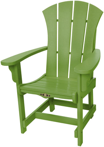 Pawleys Island Hammocks SRDCA1LM Sunrise Dining Chair w/ Arms-Lime (W 28.5 x H 41.5 in.) - Peazz.com