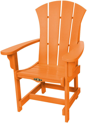 Pawleys Island Hammocks SRDCA1OR Sunrise Dining Chair w/ Arms-Orange (W 28.5 x H 41.5 in.) - Peazz.com