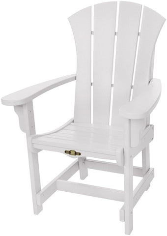 Pawleys Island Hammocks SRDCA1WH Sunrise Dining Chair w/ Arms-White (W 28.5 x H 41.5 in.) - Peazz.com